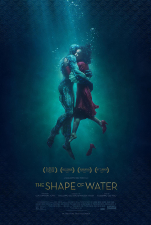 The Shape Of Water new poster is so Guillermo del Toro
