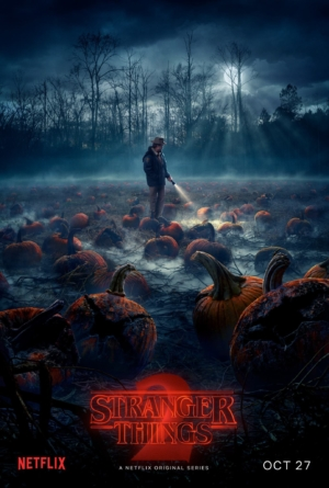 Stranger Things Season 2 poster is sick of pumpkins already