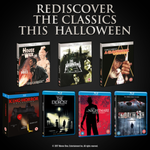 Competition! Win a bundle of classic horror films on Blu-ray