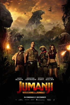 Jumanji: Welcome To The Jungle new poster goes to the darkest timeline