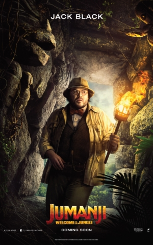 Jumanji: Welcome To The Jungle new character posters channel Indy