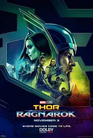 Thor: Ragnarok new illustrated Dolby poster goes back in time