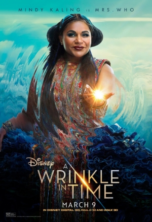A Wrinkle In Time new character posters introduce some astral beings