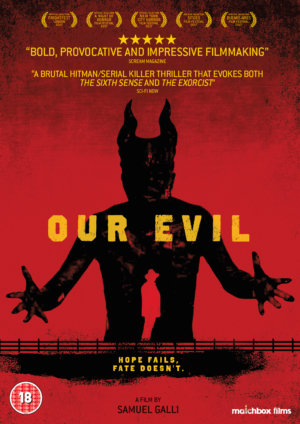 Win acclaimed occult horror Our Evil on DVD with our competition!