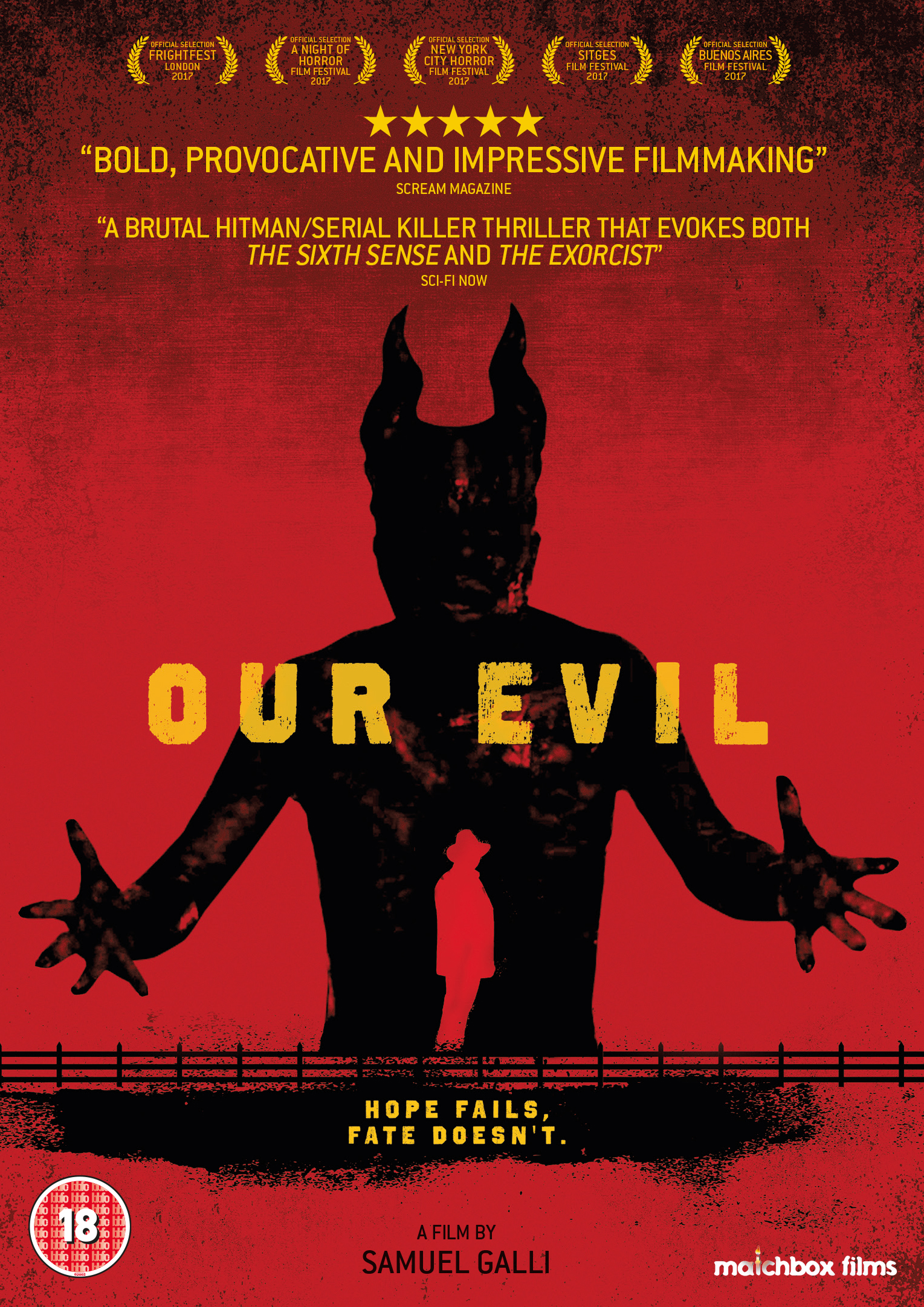 Our Evil film review: hitman horror with a supernatural twist