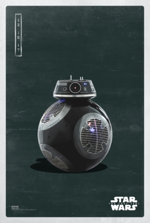 Star Wars: The Last Jedi new object posters go to the Dark Side