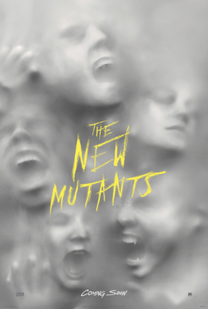 The New Mutants new poster is full 80s horror goodness