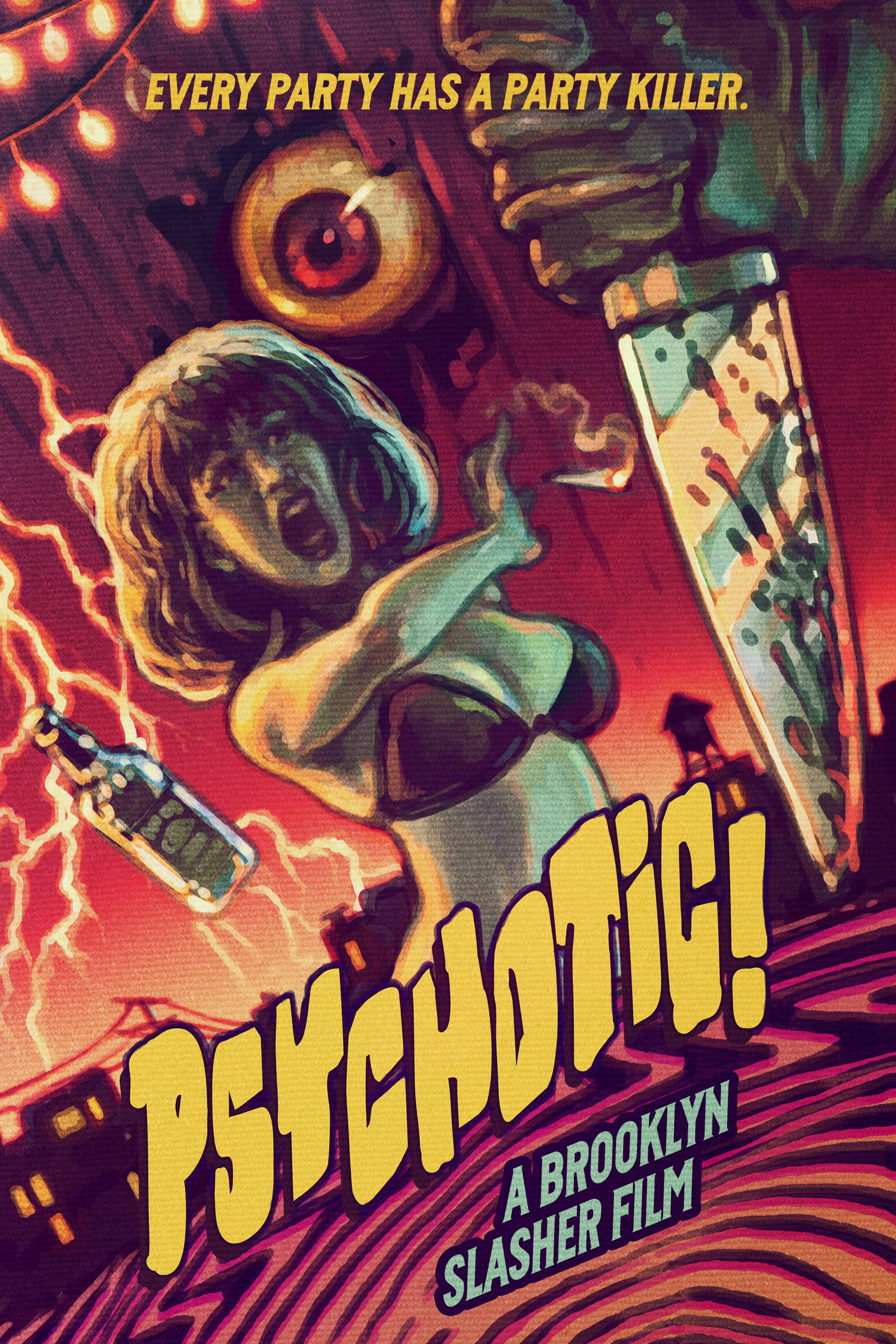 Psychotic film review: unhinged Eighties slasher cuts through a modern subculture