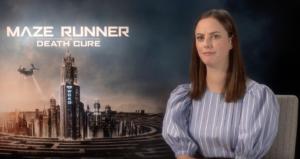 VIDEO: Kaya Scodelario talks Maze Runner: The Death Cure