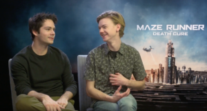 VIDEO: Dylan O'Brien & Thomas Brodie-Sangster on Maze Runner: The Death Cure