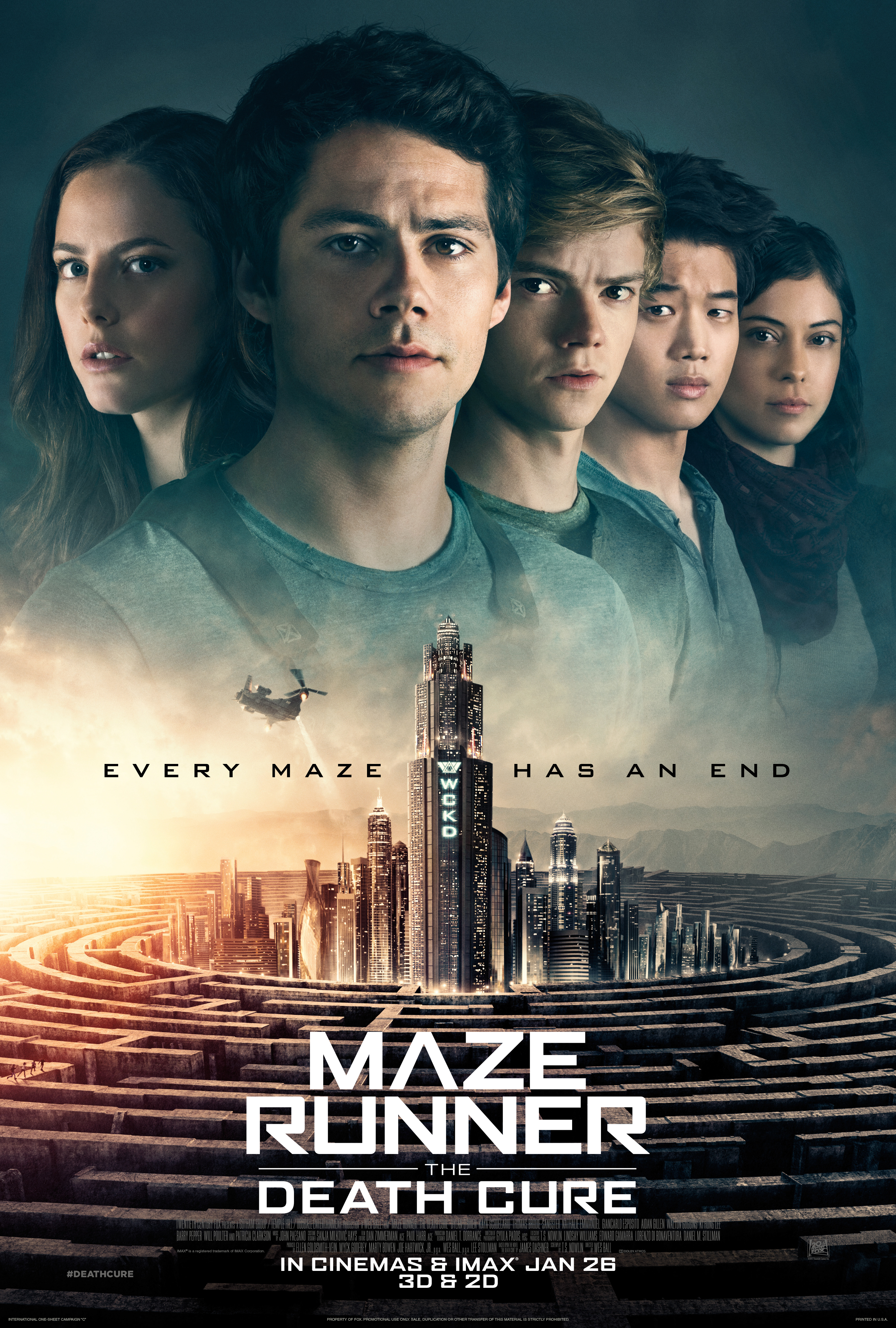 Maze Runner: The Death Cure film review: does the YA franchise go out with a WCKD bang?