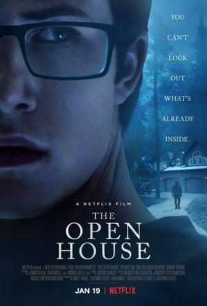 The Open House new horror poster tries to lock the baddies out