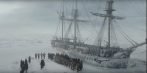 The Terror featurette finds horror waiting in the frozen emptiness
