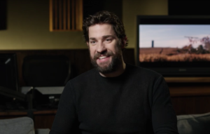 A Quiet Place director John Krasinski goes behind the scenes in a new featurette