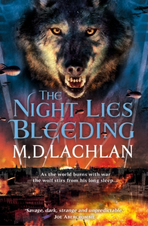 The Night Lies Bleeding author MD Lachlan on how to write historical fantasy