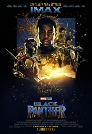 Black Panther new IMAX poster gets arty