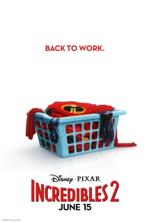 Incredibles 2 new posters go back to work