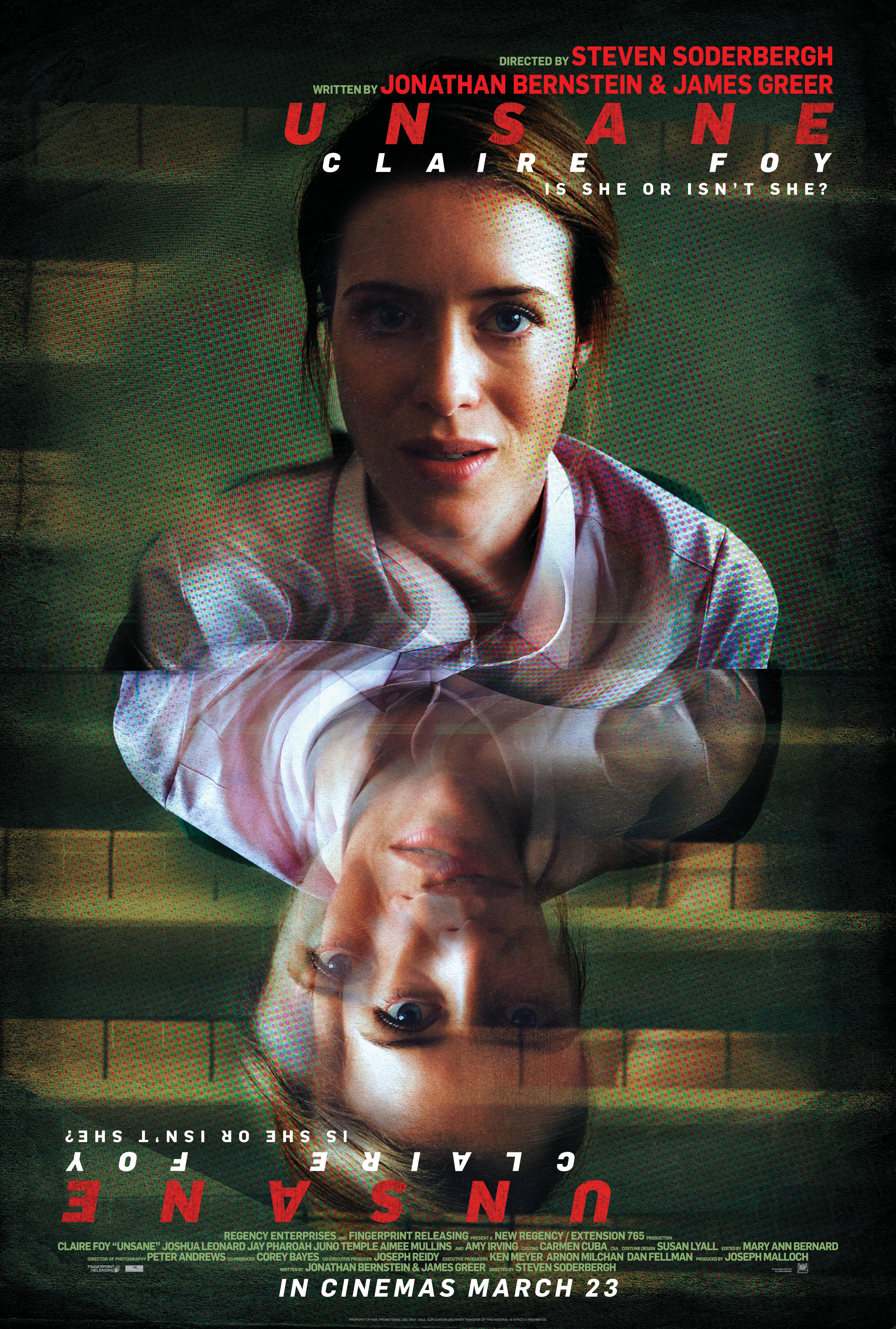 Unsane film review: Claire Foy is under pressure in Steven Soderbergh's nail-biting horror