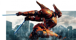 Pacific Rim Uprising new banner posters battle it out