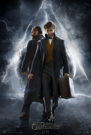 Fantastic Beasts: The Crimes Of Grindelwald poster sees Newt & Dumbledore team up