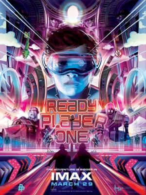 Ready Player One IMAX poster makes the adventure even bigger