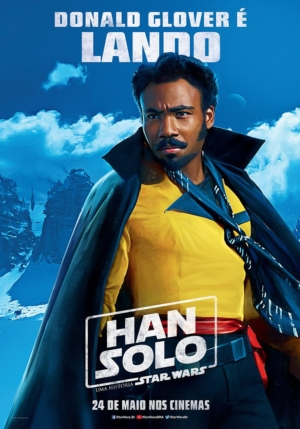 Solo: A Star Wars Story Brazilian posters keep it colourful
