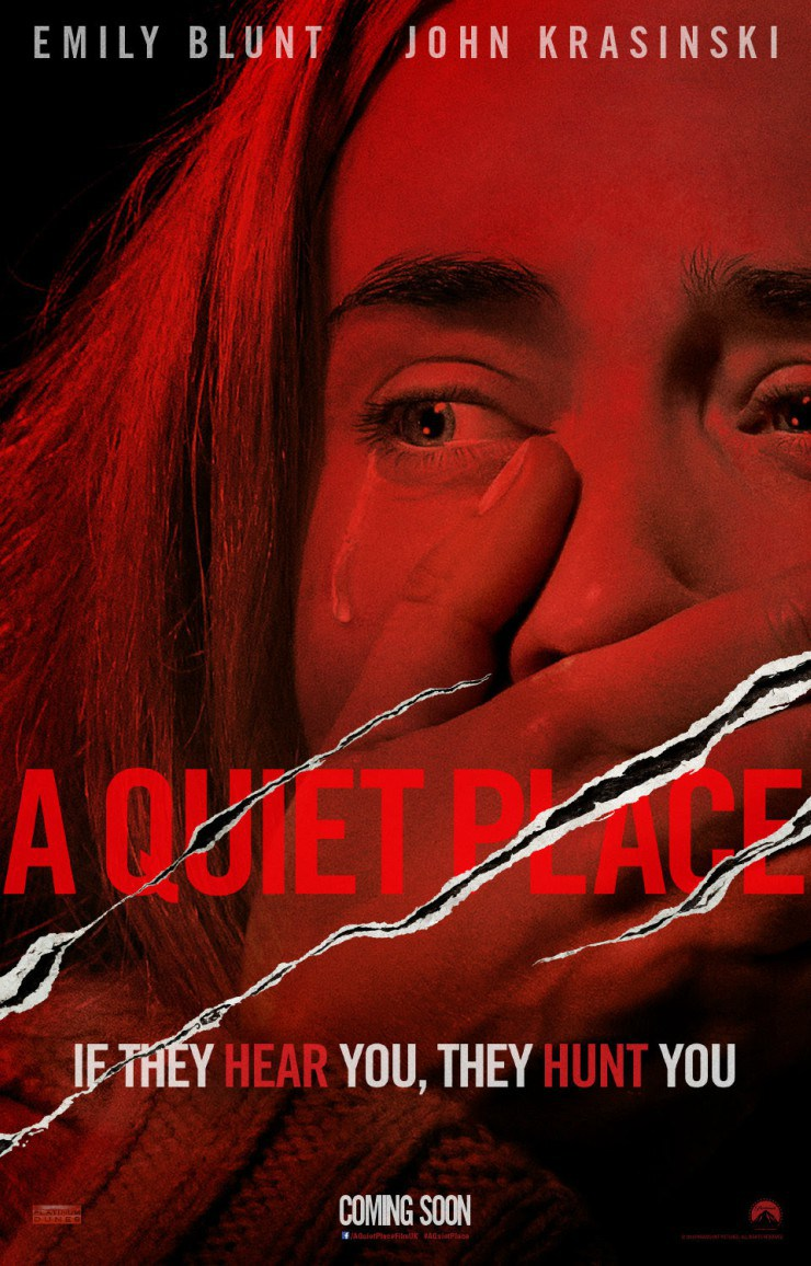 A Quiet Place film review: Emily Blunt and John Krasinski must stay silent to stay alive