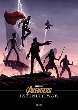 Avengers: Infinity War new art posters bring the whole team together
