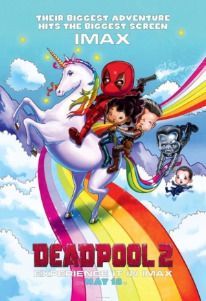 Deadpool 2 new IMAX poster is not for children