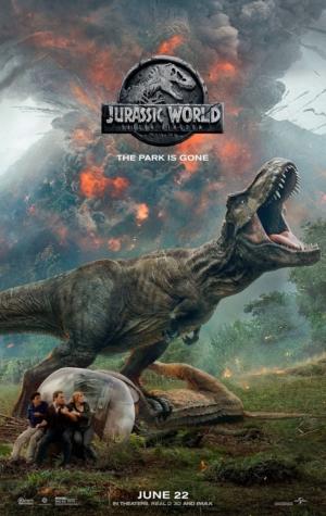 Jurassic World: Fallen Kingdom new poster closes the park