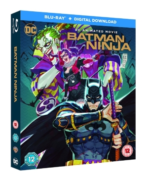 Win an incredible scroll-mounted giclée print and Blu-ray™ with 'Batman Ninja'