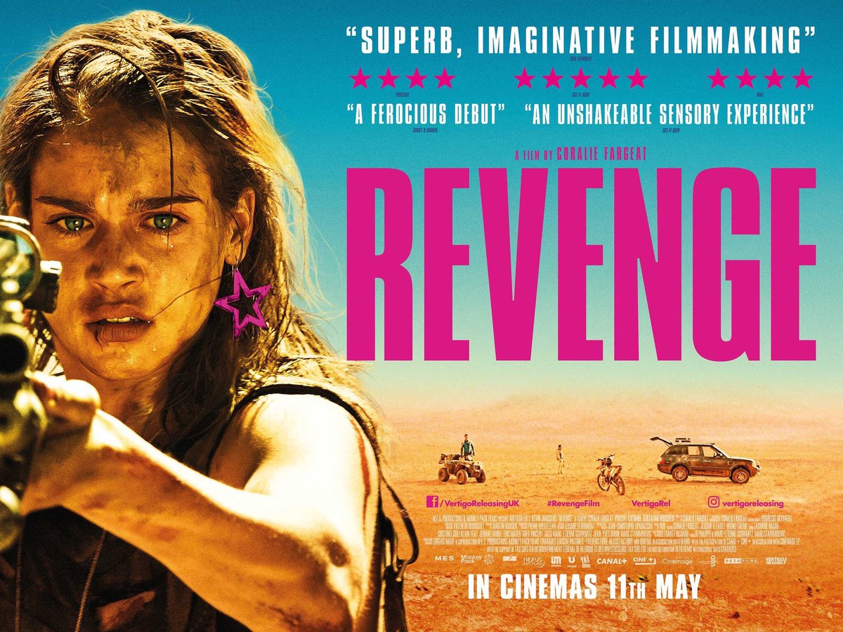 Revenge film review: an unshakeable sensory experience
