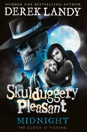 Win the entire Skulduggery Pleasant book series with our competition
