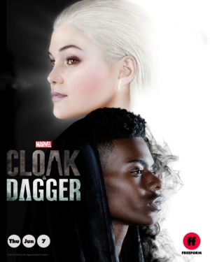 Cloak & Dagger new poster weighs up the light and the darkness