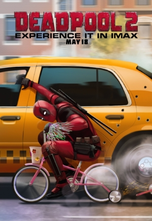 Deadpool 2 new IMAX poster is in a rush