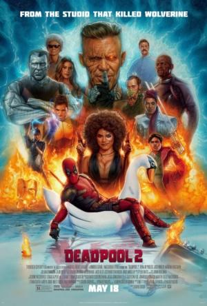 Deadpool 2 new art poster is still not over Wolverine