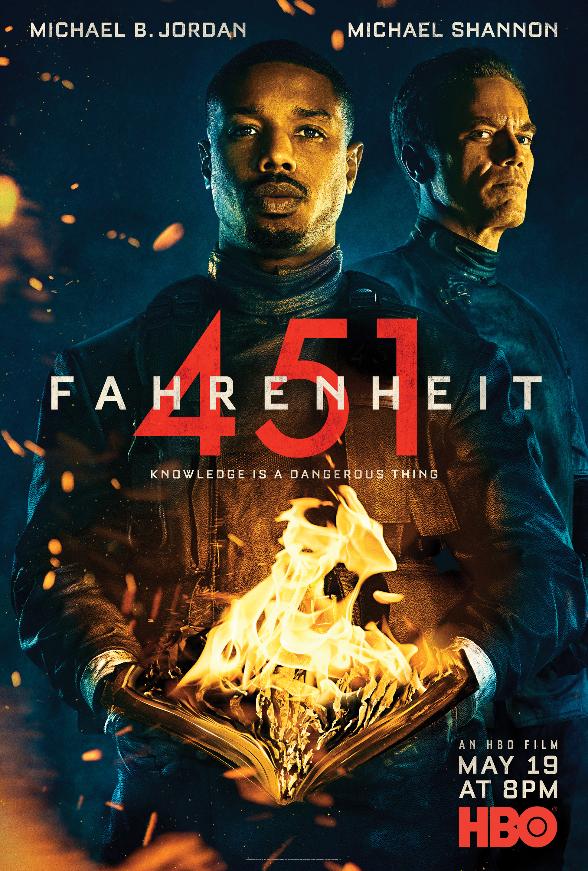 Fahrenheit 451 film review Cannes 2018: Michael B Jordan and Michael Shannon take on a classic