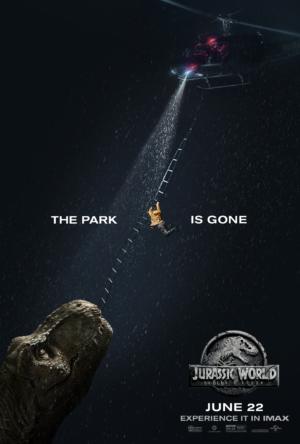 Jurassic World: Fallen Kingdom new IMAX poster is in mortal peril