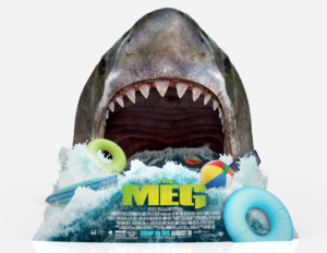 The Meg new poster is terrible and amazing