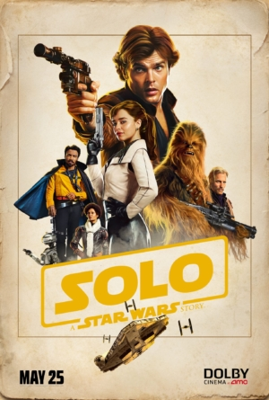 Solo: A Star Wars Story new Dolby poster goes Old West