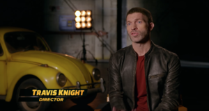 Bumblebee new featurette goes behind the scenes with director Travis Knight
