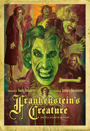 Frankenstein's Creature poster reveal: stunning artwork from Graham Humphreys