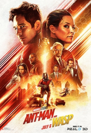 Ant-Man And The Wasp new art poster is killing it