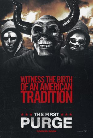 The First Purge new posters welcome a new tradition