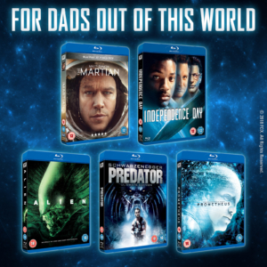 Win a Father's Day 20th Century Fox Blu-ray hamper with our competition!