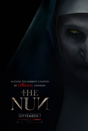 The Nun new poster is staring into your soul