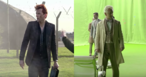 Good Omens first look teases amazing cast, humour and explosions, casts God