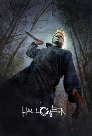 Halloween new poster goes back out on a killing spree