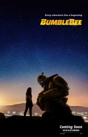 Bumblebee new poster welcomes new adventure