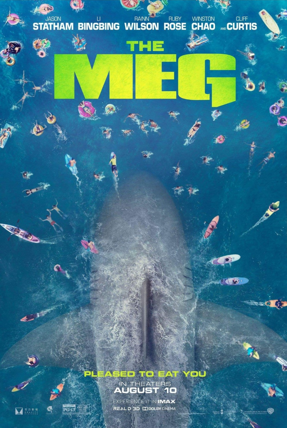 The Meg film review: Jason Statham vs a giant shark